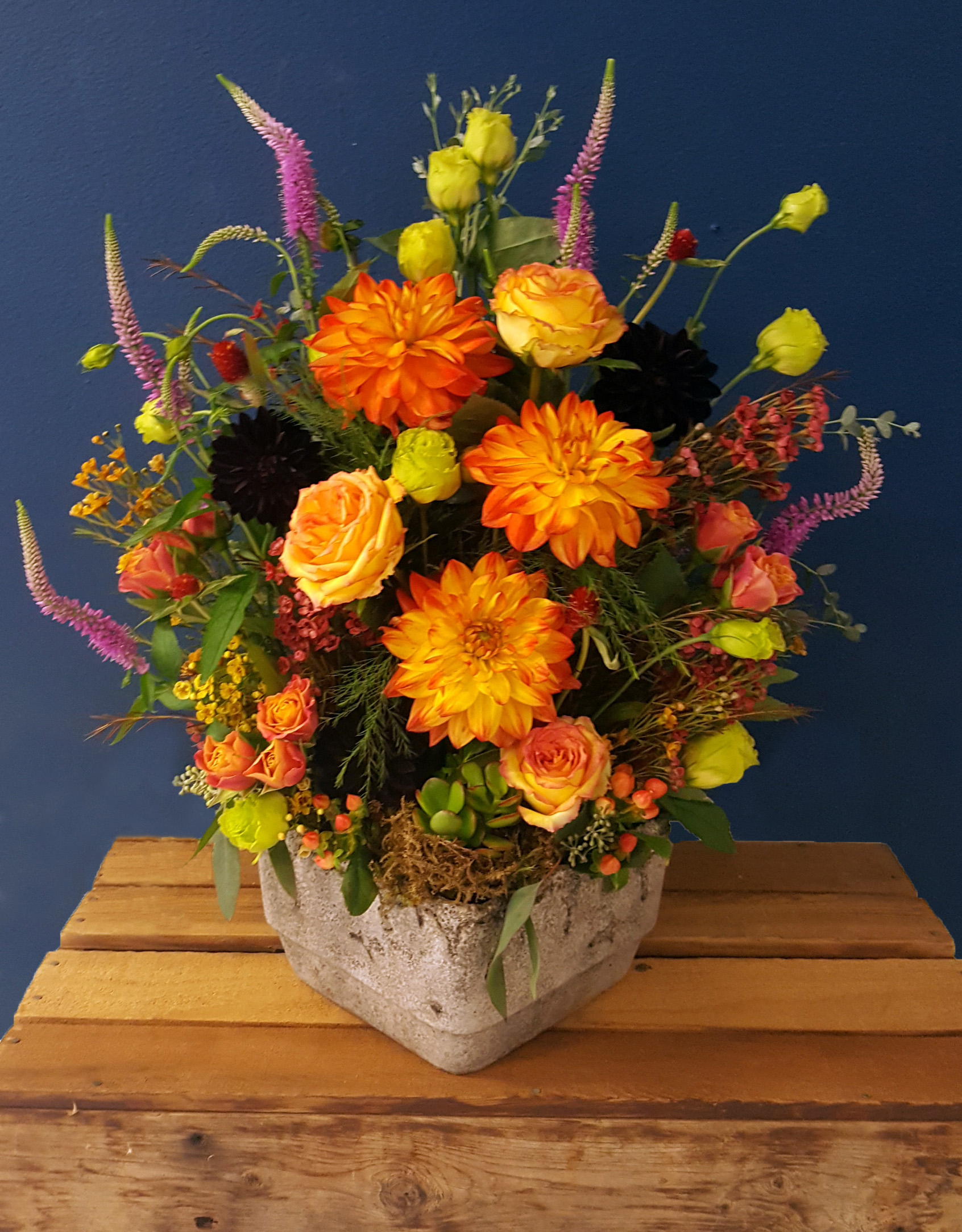 Williams flower gift fall design contest 2017 exquisite fall design contest 5 izmirmasajfo